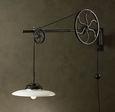 Lamp - Industrial style | CREATIVE LIVING from a Scandinavian Perspective