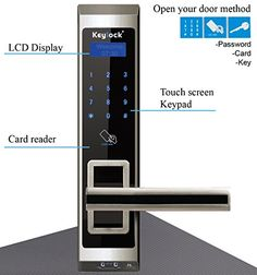 Assa Abloy Keylock Touchscreen Keyless Keypad Mf Card Mechanical Key Door Lock Knobs Open 6600-s309 (Right Handle) Assa Abloy Keylock http://www.amazon.com/dp/B00USZ6OV6/ref=cm_sw_r_pi_dp_dHxqwb1G2WPR5  #Fingerprint #DoorLock #door #keypad #Satin #chrome #handdoor #Electronic #Password #Card #Key #Handle #Nickel #home #office #Mechanical #gold #Freeshipping