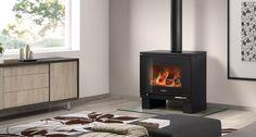 Hergom - Estufas, hogares y chimeneas de hierro fundido para leña y gas. Europa América - Frama M