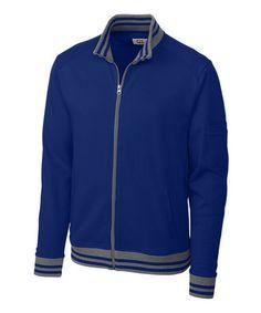 Love this Tour Blue Bullpen Baseball Jacket - Men on #zulily! #zulilyfinds