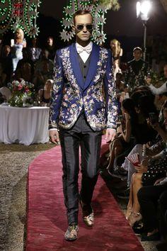 Dolce & Gabbana Alta Sartoria Menswear Fall/Winter 2015-2016
