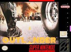 Outlander for Super Nintendo. Game Boy, Super Nintendo, Outlander, Dream Cast, Ps4, Fun Video Games, Arcade, Retro Gamer, Gaming Memes