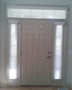 front door with transom