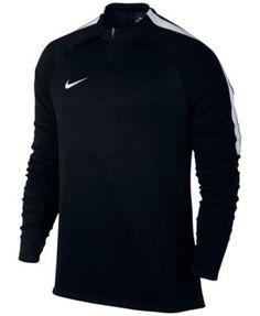 NIKE Nike Men'S Drill Dri-Fit Quarter-Zip Soccer Top. #nike #cloth # activewear