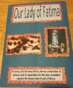 Fatima Prayers and activities, Our Lady of Fatima Faith Folder, 100th Anniversary of Fatima. Lucia, Jacinta,  and Francisco.