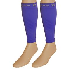 NEW! Compression leg sleeves in #ElectricPurple