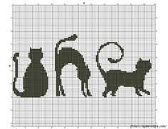 gatinhos em ponto cruz - MAYSA CHAVES DIAS - Picasa Web Albums