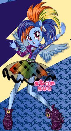 Rainbow Rocks, Rainbow Dash, Mlp Games, My Little Pony Games, Avatar, Princess Twilight Sparkle, Mlp Characters, We Bear, Hair Game