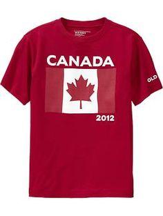 matching Canada shirts
