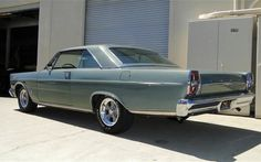 65 ford 4 door  | 1965 Ford Galaxie 500XL Hardtop Coupe For Sale Rear