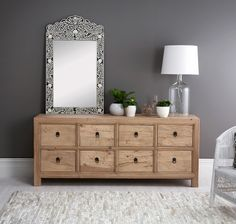 This elegant Chest of Drawers has been hand crafted from selected recycled Elm wood with special awareness given to design and character. Each chest is unique and special and works equally well in both modern and traditional decorative schemes. Simple and classic this chest will add beauty to any living dining or bedroom space. http://www.sanchiandfiliapdesignsllc.com/