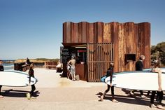 Best Cafe Design: Third Wave Cafe by Tony HobbaArchitects @ Torquay Beach, Victoria, Australia