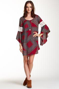 This is my perfect dress....VOOM By Joy Han | Voom by Joy Han Aerona Bell Sleeve Dress | HauteLook