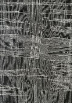 'Salt on Mina Mina' (2001) by Australian painter Dorothy Napangardi (b.1956). Synthetic polymer paint on linen, 244 x 168 cm. collection: Telstra Collection, Museum and Art Gallery of the Northern Territory. via Museums and Art Galleries of the Northern Territory
