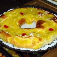 Receta de Rosca de Reyes o Pascuas de Argentina