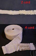 Smocking Loop Tape Drapery Curtains Craft Pleating Shirring 1 yards