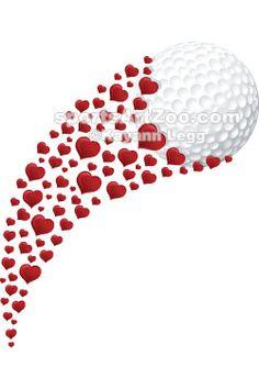 Sports Art Zoo -Valentine-Golf-Swoosh