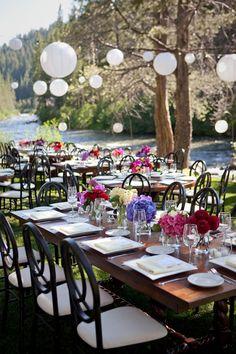 Relaxed and elegant Lake Tahoe wedding - photos by Catherine Hall Studios   junebugweddings.com