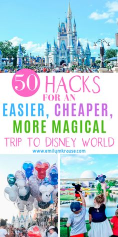 So youre going on a DIsney Vacation and you want to experience an easier, cheaper, more magical Disney World. Never fear! Ive got first time Disney World hacks and ways to cut down on Disney World stress so you can enjoy the most Magical Place on Earth! Voyage Disney World, Viaje A Disney World, Disney World Tipps, World Disney, Disney World Tips And Tricks, Disney Tips, Disney Parks, Disney Worlds, Disney World Hacks