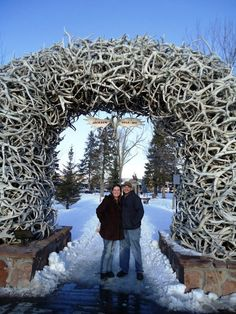 Jackson Hole, Wyoming. Chris is going to be in heaven
