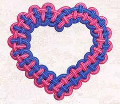 Сердечко - валентинка. Мастер-класс макраме