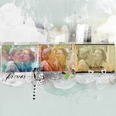 Annalift (5.28.16 – 6.3.16) by secima , scrapbook layout with 3 photos, design on a band