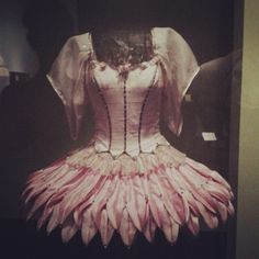 Beautiful ballerina costume on display at the Victoria & Albert Museum in London motherwifeme (Luci McQuitty Hindmarsh) - Instagram Photo Feed on the Web - Gramfeed #V&A