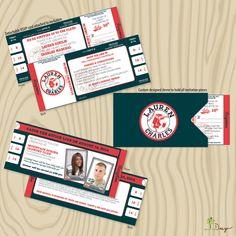 baseball themed wedding | Baseball Themed Wedding Invitations - Red Sox Baseball Inspired ...