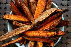 Spicy Sweet Potato Wedges.