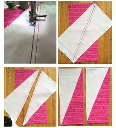 Buttons and Butterflies: Half Rectangle Triangles {Tutorial} - quilt patterns Patchwork Quilting, Scrappy Quilts, Easy Quilts, Quilt Block Patterns, Pattern Blocks, Quilt Blocks, Quilting Tutorials, Quilting Projects, Quilting Designs