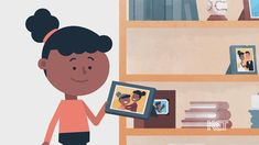 <p>In the KET animated video <em>Fotos del pasado</em>, a child looks at photographs of family members and events, making connections between the images she sees and her own experiences.</p>
