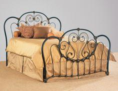 Elliot design iron bed