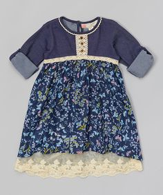 Look at this Free Planet Paradise Floral Field Dress - Girls on #zulily today!