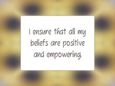 Daily Affirmation for May 2, 2014