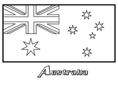 Coloring Flag Free Printabl And Spanish Speaking Countries Flags Pages Book Colori Kids Australian