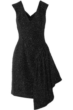 Simone RochaTinsel-embellished tweed dress