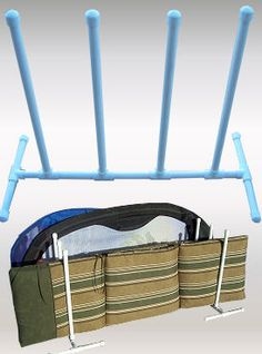 DIY pool and yard toy caddy using PVC pipe. Customize your size. DIY pool and yard toy caddy using PVC pipe. Customize your size. Pool Toy Organization, Pool Toy Storage, Pool Float Storage, Garage Storage, Pvc Pool, Pool Fun, Diy Pool Toys, Pvc Projects, Outdoor Projects