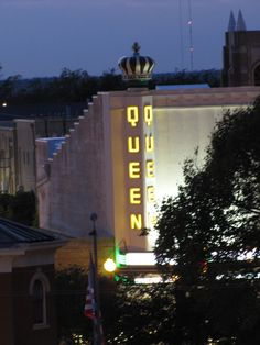 The Queen Theater in Downtown Bryan, TX