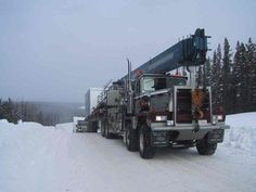 Semi Trucks, Big Trucks, Oil Field, Oil And Gas, Grease, Rigs, Trailers, Monkey, Construction