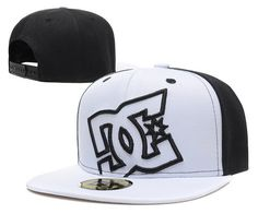 DC Snapback Hats White Black|only US$20.00 - follow me to pick up couopons.