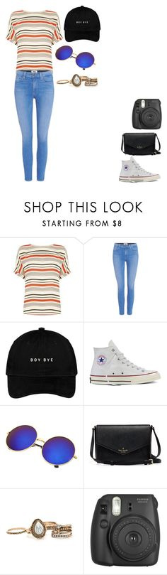 """""""06/26/17"""" by daydreamingpisces ❤ liked on Polyvore featuring Oasis, Paige Denim, Converse and Fujifilm"""