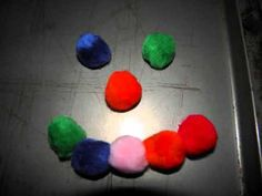 Fine Motor Activity - Magnet Pom Poms