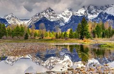 https://flic.kr/p/9rvsyF | Deeper Reflection, Grand Teton National Park |  Each of us is here for a brief sojourn; for what purpose he knows not, though he senses it. But without deeper reflection one knows from daily life that one exists for other people. ~Albert Einstein  Taken at a Mountain High Workshop last spring.  Mountain High Workshops