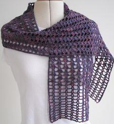 Ravelry: Progressive Crochet Scarf pattern by Agrarian Artisan Crochet Ruffle Scarf, Crochet Scarves, Crochet Shawl, Crochet Yarn, Crochet Hooks, Crochet Stitch, Knitting Patterns, Crochet Patterns, Scarf Patterns