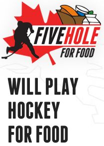 Webber Naturals Blog - Five Hole for Food: Canada, will you play hockey for food? | Webber Naturals