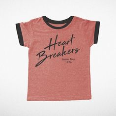 Tiny Whales Heart Breakers T-Shirt in Red   Sweet Threads - Shop Sweet Threads