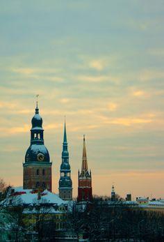 Churches of Riga, Latvia