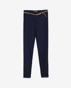 Image 8 of CHINO TROUSERS from Zara