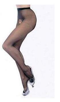 7710ca24c Women s Plus Size Crotchless Pantyhose