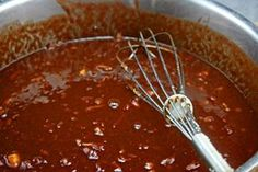 Pomegranate barbecue sauce for ribs _ The Best BBQ Sauce - with a secret ingredient that takes it over the top! Fantastic on ribs and chicken! Bbq Ribs, Pork Ribs, Barbecue Sauce Recipes, Grilling Recipes, Cooking Recipes, Bbq Sauces, Barbeque Sauce, Dips, Marinade Sauce